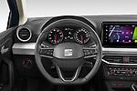 Car pictures of steering wheel view of a 2022 Seat Ibiza Move!-+ 5 Door Hatchback Steering Wheel