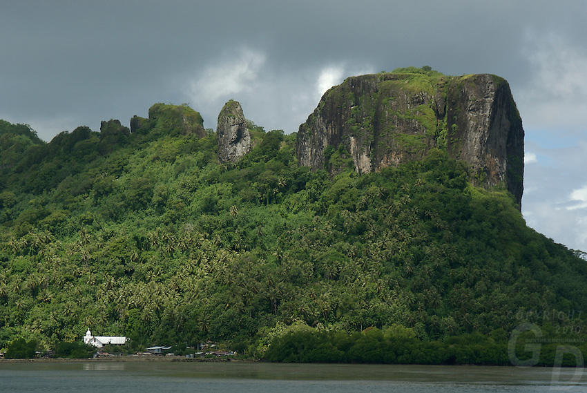 HARBOUR ENTRANCE OF POHNPEI