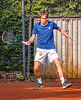 Hilversum, Netherlands, August 5, 2021, Tulip Tennis center, National Junior Tennis Championships 16 and 18 years, NJK, Boys single 18 years, Sil Hollemans (NED)<br /> Photo: Tennisimages/Henk Koster
