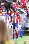 Atletico de Madrid Antoine Griezmann celebrating a goal during La Liga match between Atletico de Madrid and Deportivo Alaves at Wanda Metropolitano in Madrid, Spain. December 08, 2018. (ALTERPHOTOS/Borja B.Hojas)