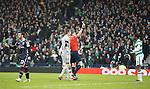 Efe Ambrose red carded as Alex Schalk celebrates
