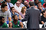 Unicaja Malaga's player Jeff Brooks during match of Liga Endesa at Barclaycard Center in Madrid. September 30, Spain. 2016. (ALTERPHOTOS/BorjaB.Hojas)