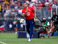 EAST HARTFORD, CT - JULY 5: Vlatko Andonovski of the USWNT throws the ball during a game between Mexico and USWNT at Rentschler Field on July 5, 2021 in East Hartford, Connecticut.