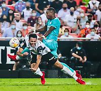 2021.09.19 La Liga Valencia CF VS Real Madrid CF
