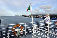 Fähre vor Insel Pico, Azoren, Portugal