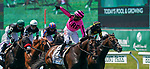 June 5, 2021: Casa Creed, #2, ridden by jockey Junior Alvarado, wins the Jackpot Jaipur Win and You're In Stakes on Belmont Stakes Day at the Belmont Stakes Festival at Belmont Park in Elmont, New York. Scott Serio/Eclipse Sportswire/CSM