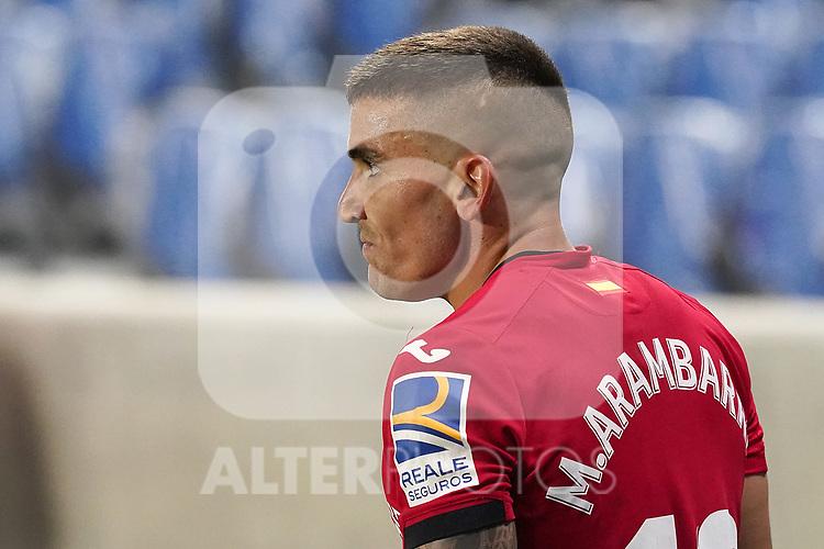 Getafe CF's Mauro Arambarri during La Liga match. October 3, 2020. (ALTERPHOTOS/Acero)