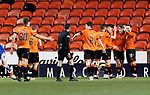 Dundee United v St Johnstone…12.01.21   Tannadice     SPFL<br />Louis Appere celebrates his goal<br />Picture by Graeme Hart.<br />Copyright Perthshire Picture Agency<br />Tel: 01738 623350  Mobile: 07990 594431