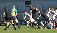 Monday 19th March 2018 |  Ulster Schools Cup Final 2018<br /> <br /> Alex Johnston during the 2018 Ulster Schools Cup Final between the Royal School Armagh and Campbell College at Kingspan Stadium, Ravenhill Park, Belfast, Northern Ireland. Photo by John Dickson / DICKSONDIGITAL