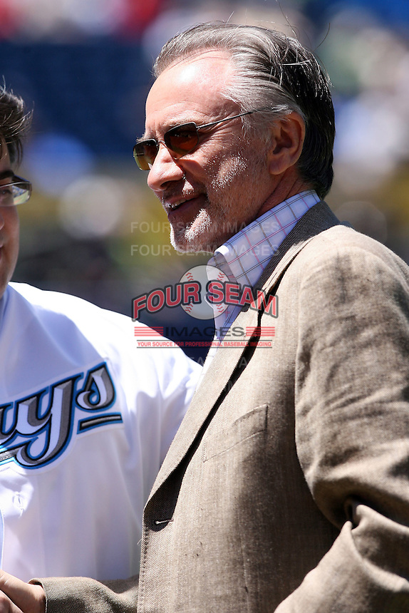 May 26, 2008:  Paul Godfrey, chief executive officer and president of the Toronto Blue Jays, during a game at the Rogers Centre in Toronto, Ontario, Canada .  Photo by:  Mike Janes/Four Seam Images