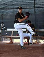 MacKenzie Gore - San Diego Padres 2020 spring training (Bill Mitchell)