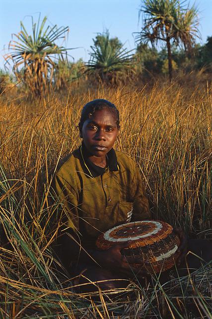 Lexcine Yunkaporta, Aurukun, Cape York Peninsula.