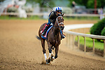 April 28, 2021: Coach gallops in preparation for the Kentucky Oaks at Churchill Downs in Louisville, Kentucky on April 28, 2021. EversEclipse Sportswire/CSM