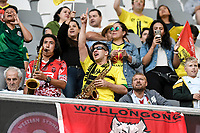 15th March 2021; Bankwest Stadium, Parramatta, New South Wales, Australia; A League Football, Western Sydney Wanderers versus Wellington Phoenix; Phoenix fans before kick off