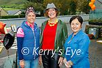 Enjoying Camp Horse Fair on Monday, l to r: Christina Kuulme, Catherine O'Brien (Ballymac) and Betty Dillion (Camp).