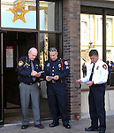 Miami County Police Memorial Day 2015 at the Courthouse Plaza in Troy on May 6, 2015.