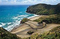 Paikea Bay north of Piha township - West Auckland, New Zealand