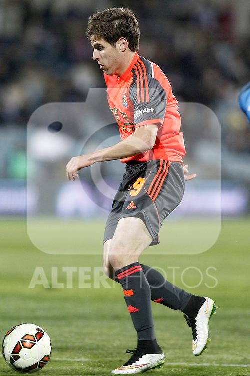 Real Sociedad's Pablo Hervias during La Liga match.March 16,2015. (ALTERPHOTOS/Acero)