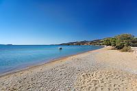 Panagia beach of Antiparos island in Cyclades, Greece