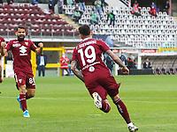 Torino 03-04-2021<br /> Stadio Grande torino<br /> Serie A  Tim 2020/21<br /> Torino - Juventus<br /> Nella foto:     Sanabria esulta dopo il  goal                              <br /> Antonio Saia Kines Milano