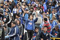 BOGOTÁ -COLOMBIA, 03-06-2013. Aspecto del encuentro entre Millonarios y Alianza Petrolera en la fecha 18 de la Liga Postobón 2013-1 realizado en el estadio El Campin en Bogotá./ Aspect of match between Millonarios and Alianza Petrolera during 18th date of Postobon  League 2013-1 at El Campin stadium in Bogota. Photo: VizzorImage/STR