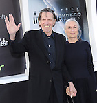 """Leonard Nimoy and Susan Bay at Paramount Pictures' Premiere of  """"Star Trek Into Darkness"""" held at The Dolby Theater in Hollywood, California on May 14,2013                                                                   Copyright 2013 Hollywood Press Agency"""