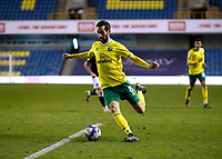 2nd February 2021; The Den, Bermondsey, London, England; English Championship Football, Millwall Football Club versus Norwich City; Mario Vrancic of Norwich City