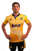 Otere Black. Hurricanes Super Rugby official headshots at Rugby League Park, Wellington, New Zealand on Tuesday, 13 January 2015. Photo: Dave Lintott / lintottphoto.co.nz