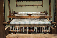 Antique loom, Winterthur decorative Arts Museum and Gardens, Delaware, USA