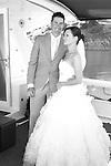 Wedding photographed on Million dollar yacht at Christmas cove kangaroo island