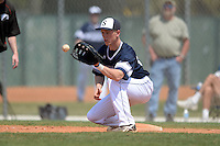 UW-Stout Blue Devils Noah Brown (20) during the second game of a doubleheader against the Edgewood Eagles on March 16, 2015 at Lee County Player Development Complex in Fort Myers, Florida.  UW-Stout defeated Edgewood 8-2.  (Mike Janes/Four Seam Images)