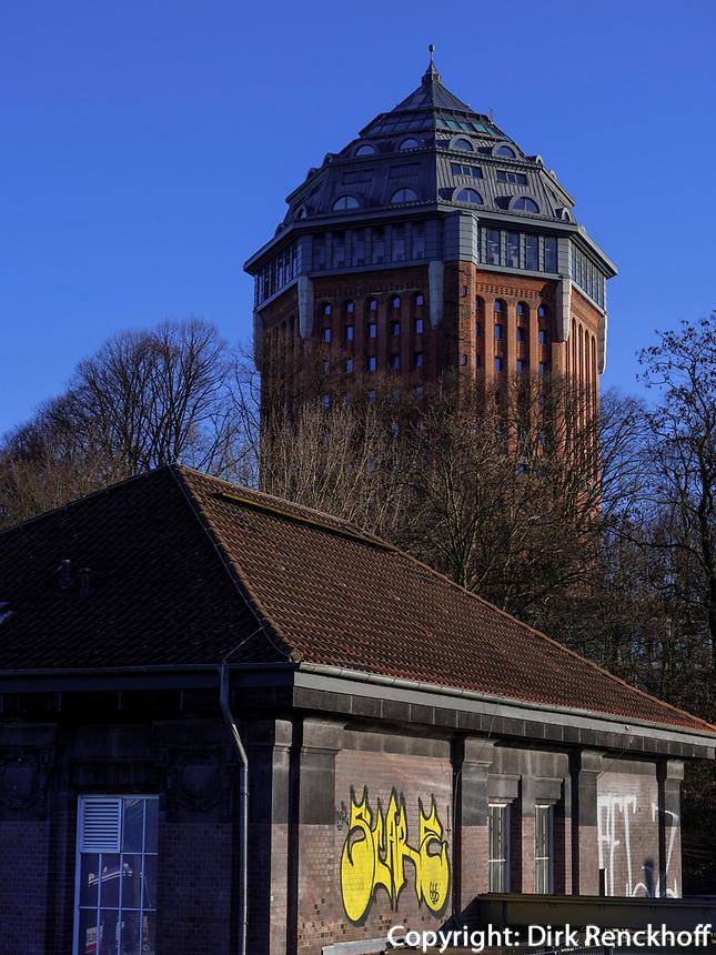 Hotel Möwenpick in ehemaligem Wasserturm, Sternschanze 6, Hamburg, Deutschland, Europa