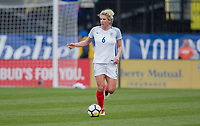 Columbus, Ohio - Thursday March 01, 2018: England during a 2018 SheBelieves Cup match between the women's national teams of the England (ENG) and France (FRA) at MAPFRE Stadium.