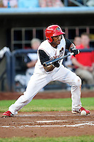Quad Cities River Bandits outfielder Virgil Hill #36 during a game against the Cedar Rapids Kernels at Modern Woodmen Park on June 30, 2012 in Davenport, Illinois.  Quad Cities defeated Davenport 8-7.  (Mike Janes/Four Seam Images)