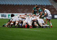 4th October 2020; Twickenham Stoop, London, England; Gallagher Premiership Rugby, London Irish versus Bristol Bears; London Irish and Bristol Bears as Irish put into the scrum