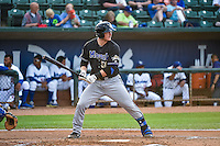 Luke Lowery (50) of the Missoula Osprey at bat against the Ogden Raptors in Pioneer League action at Lindquist Field on July 20, 2015 in Ogden, Utah. Missoula defeated Ogden 10-6. (Stephen Smith/Four Seam Images)