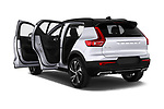 Car images close up view of a 2019 Volvo XC40 R-Design 5 Door SUV doors