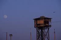 Europe/Espagne/Catalogne/Barcelone : Le téléphérique sur le port