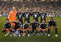MLS All-Stars Team Photo.  The MLS All Stars Team defeated Chelsea FC 3-2 at PPL Park Stadium, Wednesday 25, 2012.