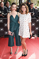 Anna Passey and Sophie Austin<br /> arrives for the T.R.I.C. Awards 2017 at the Grosvenor House Hotel, Mayfair, London.<br /> <br /> <br /> ©Ash Knotek  D3240  14/03/2017