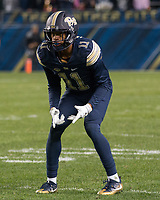 Pitt defensive back Dane Jackson. The Virginia Tech Hokies defeated the Pitt Panthers 39-36 on October 27, 2016 at Heinz Field in Pittsburgh, Pennsylvania.