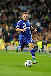 FC Shalke 04´s Max Meyer during 2014-15 Champions League match between Real Madrid and FC Shalke 04 at Santiago Bernabeu stadium in Madrid, Spain. March 10, 2015. (ALTERPHOTOS/Luis Fernandez)