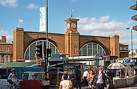 London: King's Cross Station, 2005. (All of this foreground clutter is to be cleared away.)