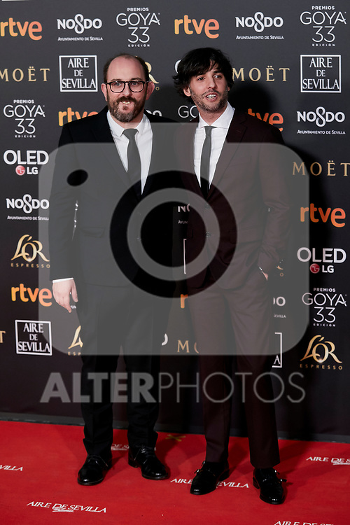 Borja Cobeaga attends to 33rd Goya Awards at Fibes - Conference and Exhibition  in Seville, Spain. February 02, 2019. (ALTERPHOTOS/A. Perez Meca)