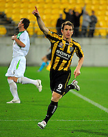 100924 A-League - Wellington Phoenix v North Queensland Fury
