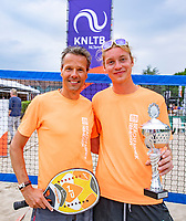 Den Bosch, Netherlands, 16 June, 2018, Tennis, Libema Open, Winners beachtennis<br /> Photo: Henk Koster/tennisimages.com