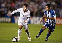 Benny Feilhaber, Melvin Valladares.USA vs Honduras, Saturday Jan. 23, 2010 at the Home Depot Center in Carson, California. Honduras 3, USA 1.