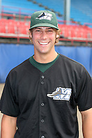Southwest Michigan Devil Rays Alex Jamieson poses for a photo before a Midwest League game at C.O. Brown Stadium on July 14, 2006 in Battle Creek, Michigan.  (Mike Janes/Four Seam Images)
