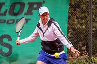 Hilversum, The Netherlands,  August 17, 2021,  Tulip Tennis Center, NKS, National Senior Tennis Championships, Men's 65+  Martin Koek (NED)<br /> Photo: Tennisimages/Henk Koster