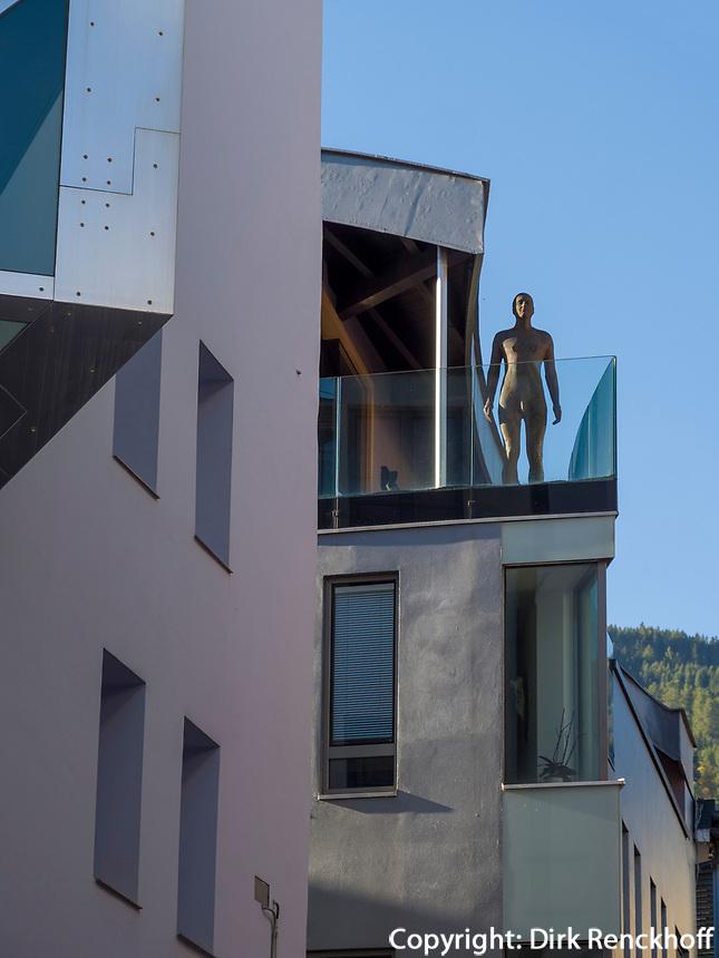Moderne Architektur in der Altstadt, Sterzing, Region Südtirol-Bozen, Italien, Europa<br /> modern architecture, hictoric city of Sterzing, Region South Tyrol-Bolzano, Italy, Europe